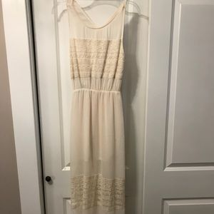 H&M dress with a cut out back opening